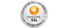 Secured by Positive SSL by Comodo